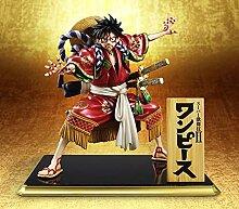 Anime One Piece AFFE D Ruffy Kimono Kabuki Edition