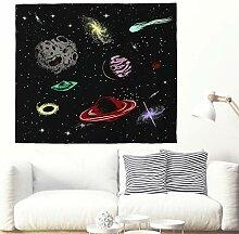 Anime Planeten Sterne Spiral Galaxie Wandbehang