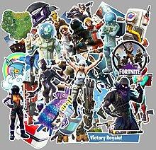 Anime Stickers 111 Stück Festung Nacht