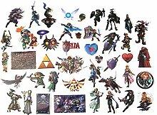 Anime Stickers 43 Stück Aufkleber Kreative