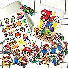 Anime Stickers Mario Koffer Aufkleber Super Mario