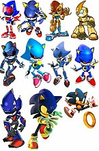 Anime Stickers Sonic The Hedgehog Sonic