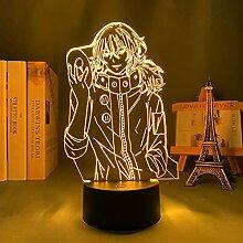 Anime Tokyo Ghoul 3d Lampe Ayato Kirishima für