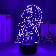 Anime Tokyo Ghoul 3d Lampe Juuzou Suzuya für