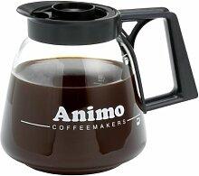 Animo Glaskanne 1,8l Kaffee-Kanne aus Glas für zb