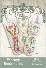 Anita Goodesign Vintage Bookmarks Embroidery