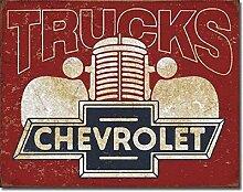 Anjoes Chevy Trucks 40039;s Logo Retro Auto Garage