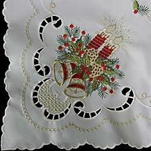Anka Textil Weihnachts-Tischdecke Tischläufer