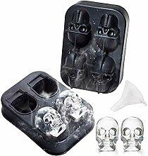 Ankamal Elec 3D Skull Eiswürfelform
