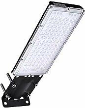 Ankishi 100W LED Straßenlampe,10000LM