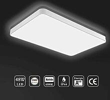 Ankishi 48W LED Deckenleuchte,Modern LED Panel