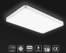 Ankishi 72W LED Deckenleuchte,Modern LED Panel