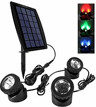 Ankway LED Teichbeleuchtung Solar Solarspots