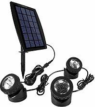 Ankway Solarspots Unterwasserstrahler LED
