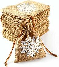 Anladia 20tlg 14 * 9cm Schneeflocke Kleine