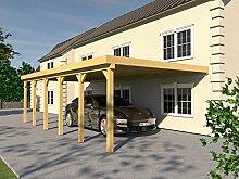 Anlehncarport Carport EIFEL VIII 400x900cm