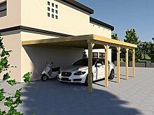 Anlehncarport Carport EIFEL X 500x800cm Bausatz, Anlehn Carpor