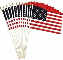 Anley? US Stockflagge - 45,7 x 30,5 cm Handheld
