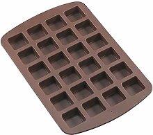 ANLIN Backform Brownie Squares Silikon Backform 24