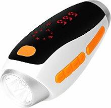 anmyox Notfall Taschenlampe Handkurbel, tragbare