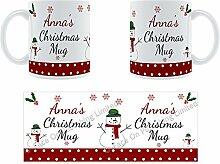 Anna'Weihnachten Becher, Tasse, Keramik,