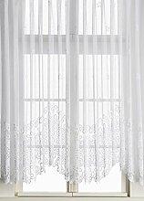 Anna Cortina Bogenstore, Stoff, Weiß, 125x450