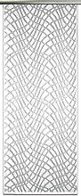 Anna Cortina Schiebevorhang, Stoff, Weiß, 125x60