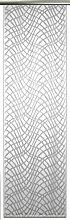 Anna Cortina Schiebevorhang, Stoff, Weiß, 175x60