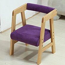 Anna Kinderstuhl Einfache moderne Rückenlehne Stuhl Lift Baby Stuhl Lernstuhl (Farbe : #2, design : Pack of 3)