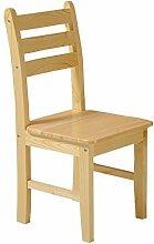 Anna Kinderstuhl Nordic Wooden Kinder Freizeit Stuhl Rückenlehne Stuhl Student Learning Training Stuhl (design : Pack of 3)