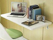 Anna Massivholz Wand Tisch Falttisch Esstisch Wand Tisch Einfach Falttisch Farbe Optional ( Farbe : Style-1 )