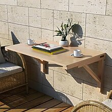 Anna Massivholz Wand Tisch Falttisch Esstisch Wand Tisch Einfach Falttisch Farbe Größe Optional ( Farbe : Wooden stent , größe : 50*30cm )