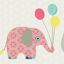Anna Wand Bordüre selbstklebend Family Elephant -