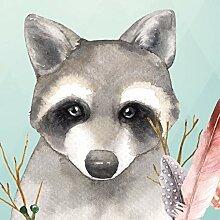 anna wand Bordüre selbstklebend Friendly Forest -