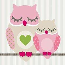 Anna Wand Bordüre selbstklebend Summer Owls Girls