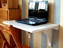 Anna Wand-Massivholz-Wandtisch Klapptisch Esstisch Wandtisch Einfache Klapptisch Größe Optional ( größe : 70*45cm )
