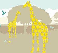 Anna Wand Maxi-Bordüre Selbstklebend Sunny Safari