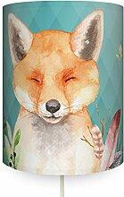 anna wand Wandlampe Fuchs Mint - Runder