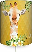 anna wand Wandlampe Jolly Jungle Giraffe Curry -