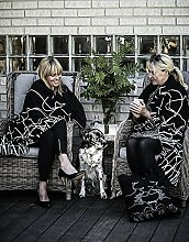 AnnaViktoria schwedische Fleece-Decke Dalapferde,
