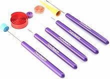 Anndason 5-in-1 Quilling-Werkzeuge, 5 Stück