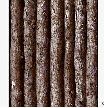 ANNDEEW Retro-Rinde Holz Nachahmung Holz Tapete , 2205#5 number simulation ash wood