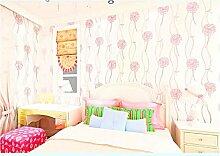 ANNDEEW Romantische Vliestapete 3D wallpaper , pink