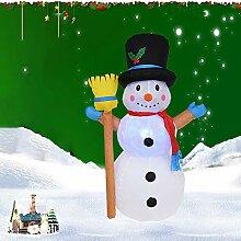 AnnDoor Weihnachten Schneemann Weiß LED
