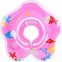 Annein Kleinkind Kinder Schwimmender Schwimmen Ring Aufblasbarer Baby Schwimmring Kommt By (Rosa)