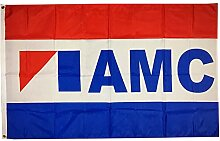 Annfly Jeep AMC Fahne Banner 91 x 152 cm Mann
