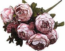 ANNP Künstlicher Blumenstrauß, künstliche