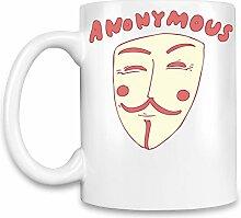 Anonymous Kaffee Becher