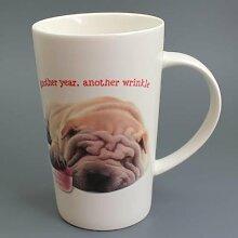 Another Wrinkle - Faltenhund - Mug - Becher - Latte