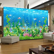 Anpassbare Größe Fototapete 3D Unterwasser